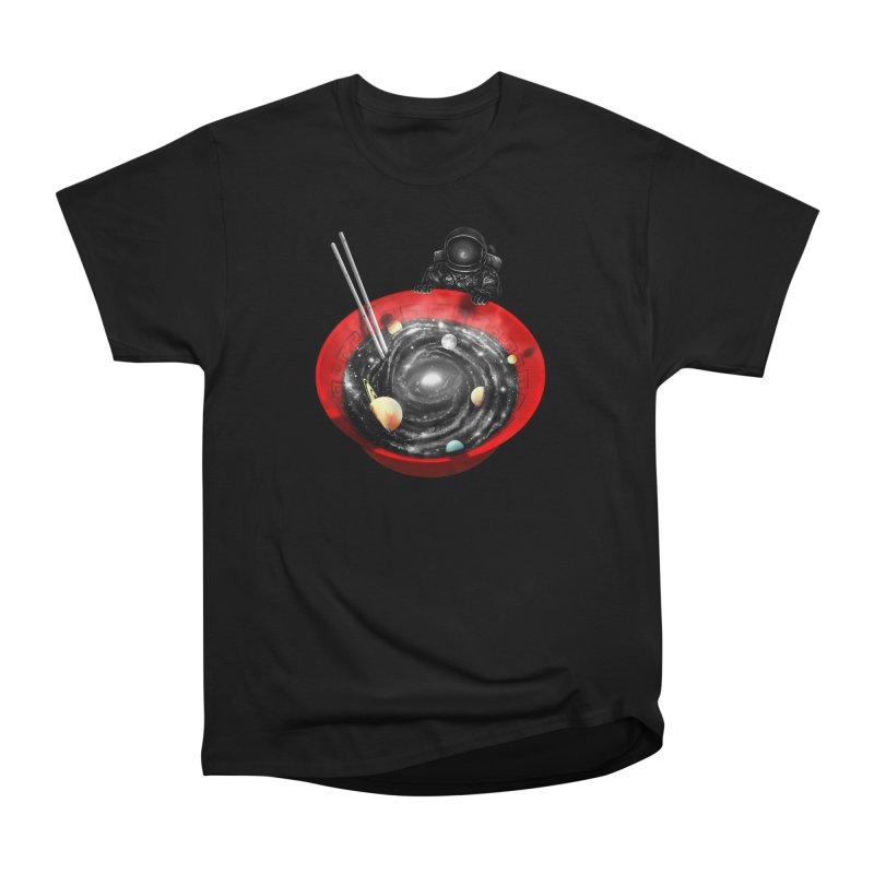 Cosmic Ramen II Women's Heavyweight Unisex T-Shirt by nicebleed