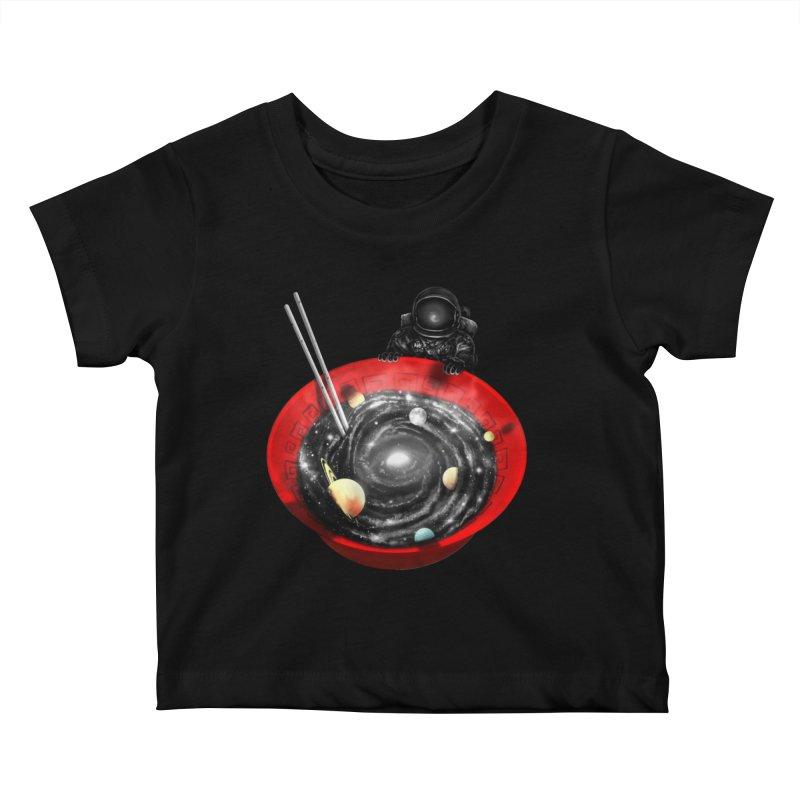 Cosmic Ramen II Kids Baby T-Shirt by nicebleed