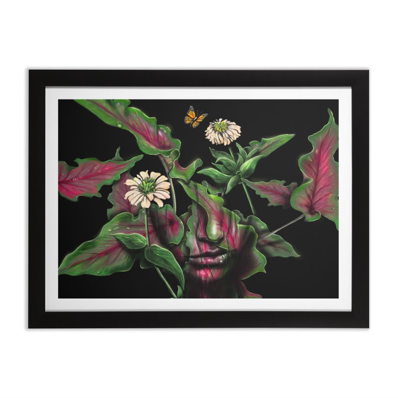 Felicity Home Framed Fine Art Print by nicebleed