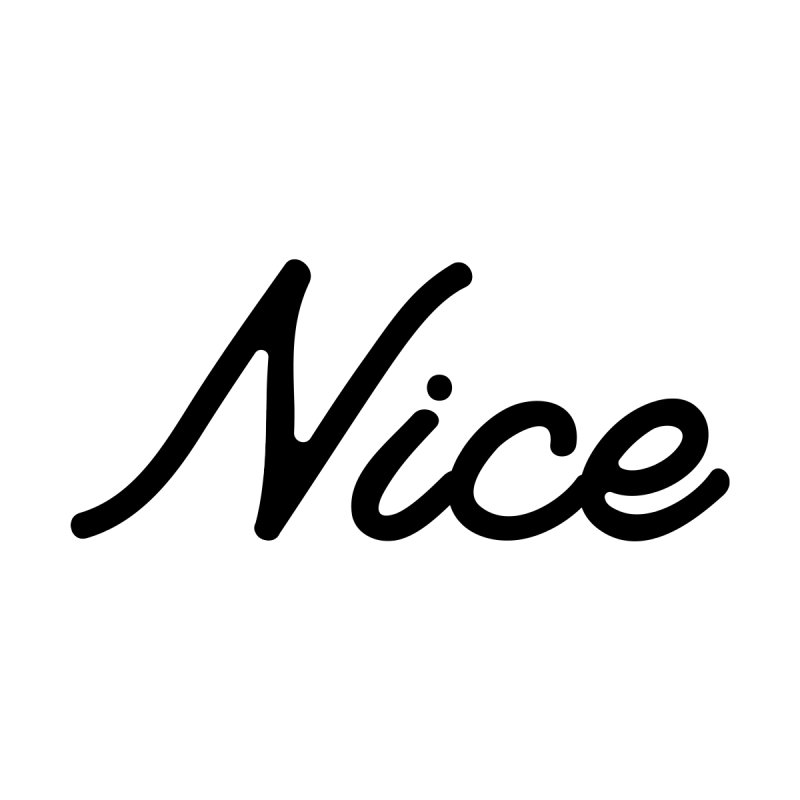 Nice T-Shirt (Vintage Classic) None  by nicedesign's Shop