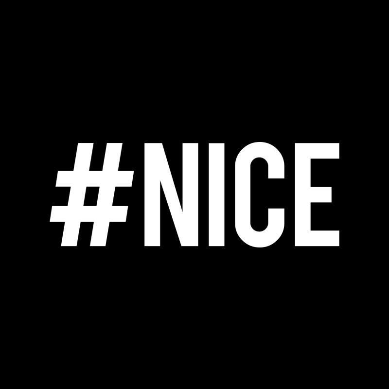 Hashtag Nice T-Shirt (Classic) by nicedesign's Shop