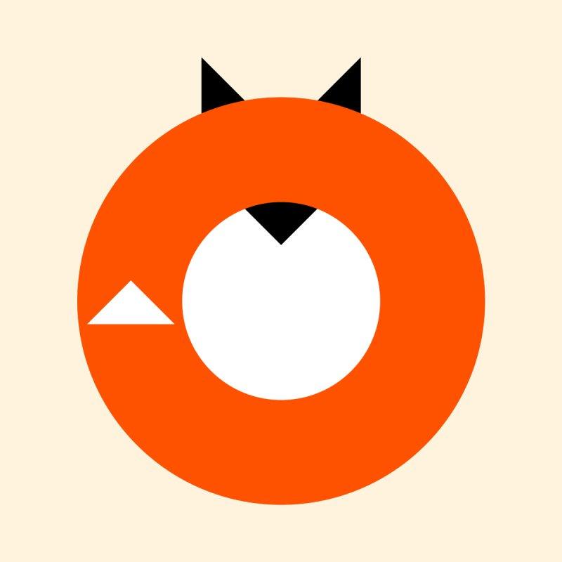 A Most Minimalist Fox by Nicholas Ely's Artist Shop