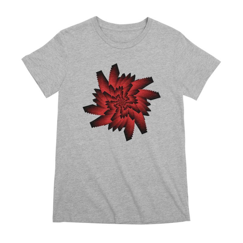 Into the Red Eye Women's Premium T-Shirt by nickaker's Artist Shop