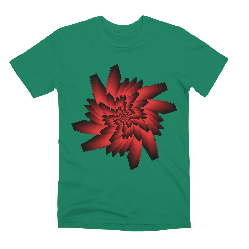 Into the Red Eye Men's Premium T-Shirt by nickaker's Artist Shop