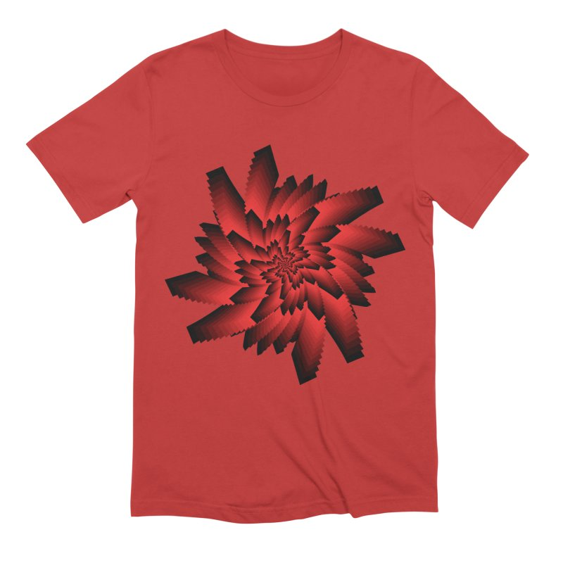 Into the Red Eye Men's Extra Soft T-Shirt by nickaker's Artist Shop