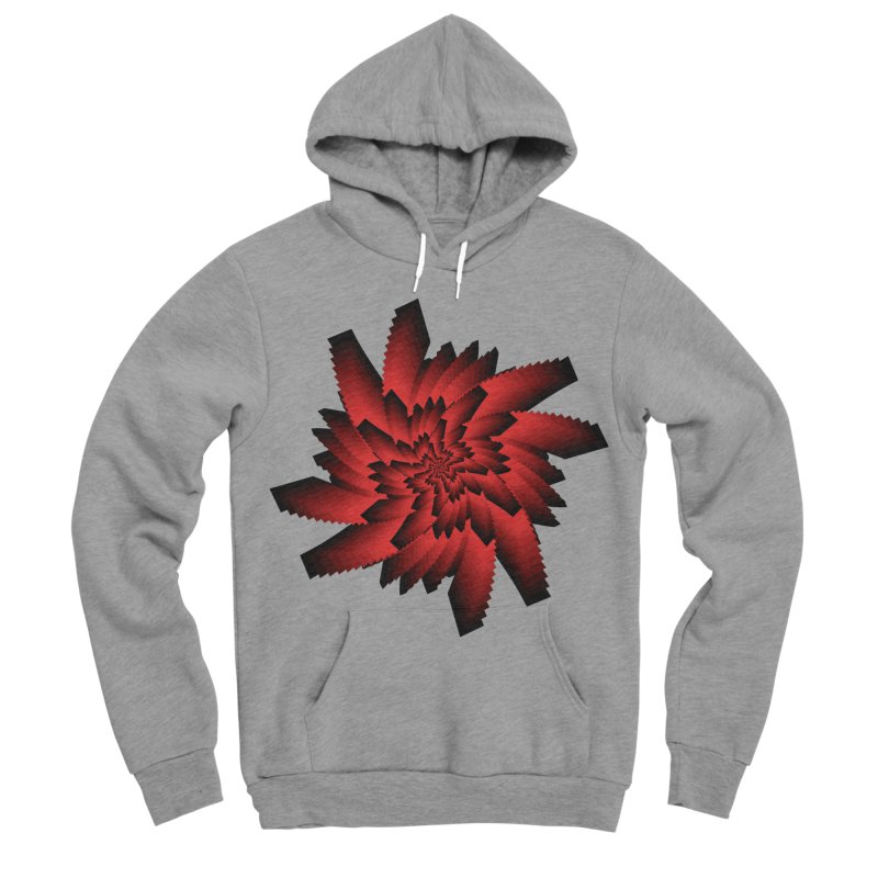 Into the Red Eye Women's Sponge Fleece Pullover Hoody by nickaker's Artist Shop