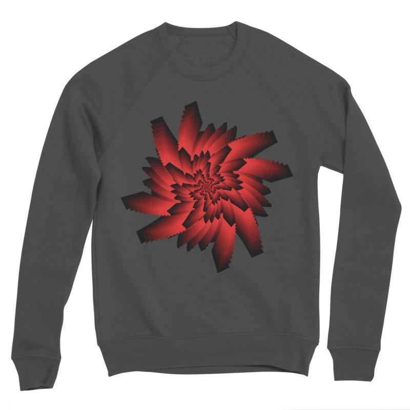 Into the Red Eye Men's Sponge Fleece Sweatshirt by nickaker's Artist Shop