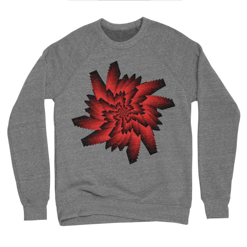 Into the Red Eye Men's Sponge Fleece Sweatshirt by nickaker's Artist Shop