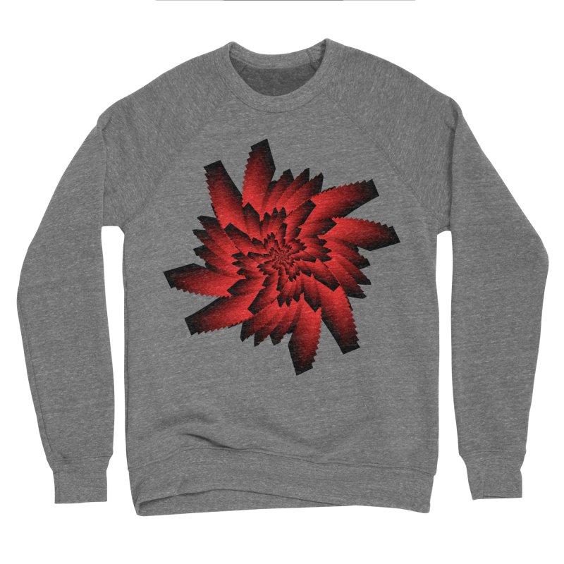 Into the Red Eye Women's Sponge Fleece Sweatshirt by nickaker's Artist Shop