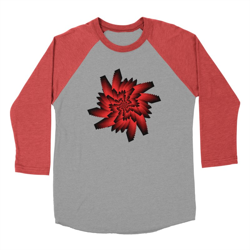 Into the Red Eye Women's Baseball Triblend Longsleeve T-Shirt by nickaker's Artist Shop