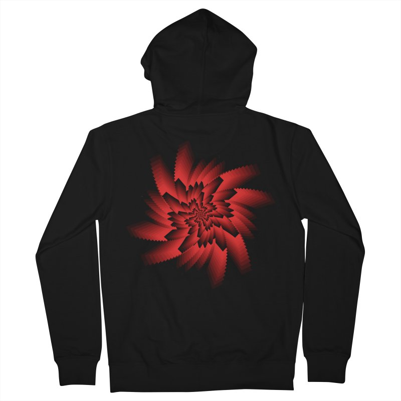 Into the Red Eye Women's French Terry Zip-Up Hoody by nickaker's Artist Shop