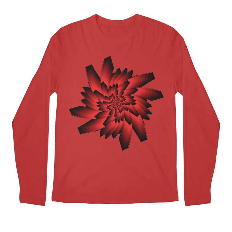 Into the Red Eye Men's Longsleeve T-Shirt by nickaker's Artist Shop