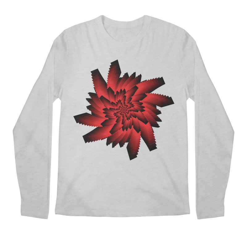 Into the Red Eye Men's Regular Longsleeve T-Shirt by nickaker's Artist Shop