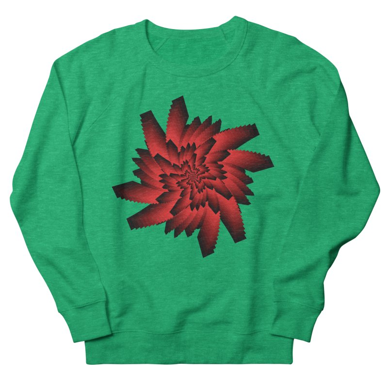 Into the Red Eye Women's Sweatshirt by nickaker's Artist Shop