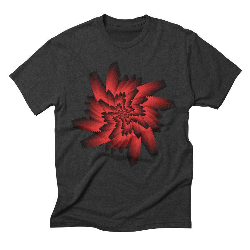 Into the Red Eye Men's Triblend T-Shirt by nickaker's Artist Shop