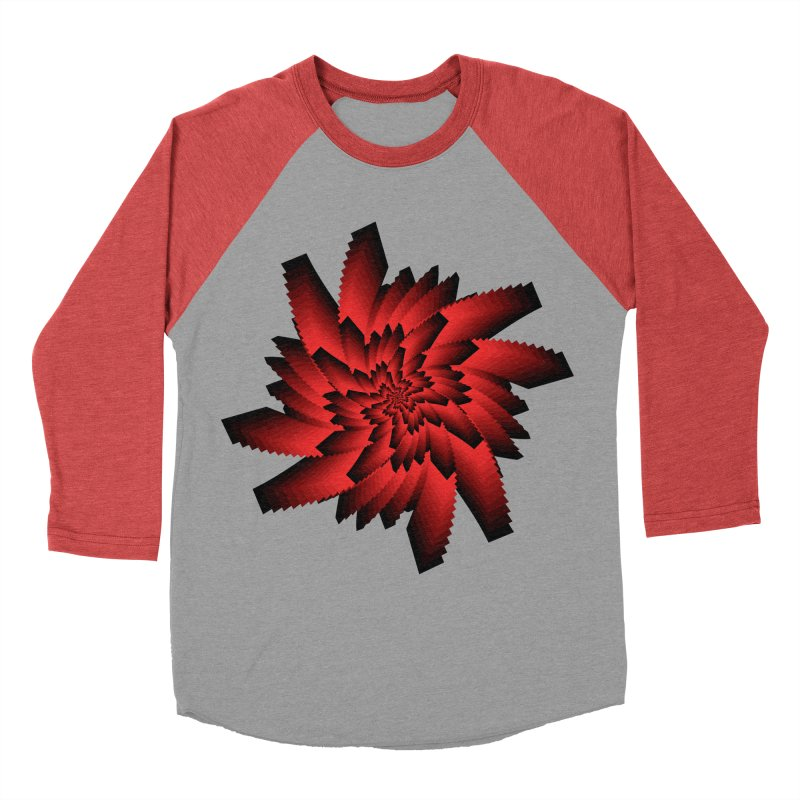 Into the Red Eye Men's Baseball Triblend Longsleeve T-Shirt by nickaker's Artist Shop