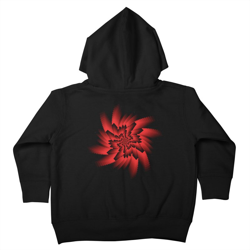 Into the Red Eye Kids Toddler Zip-Up Hoody by nickaker's Artist Shop