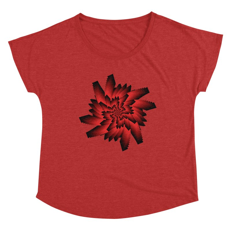 Into the Red Eye Women's Dolman Scoop Neck by nickaker's Artist Shop