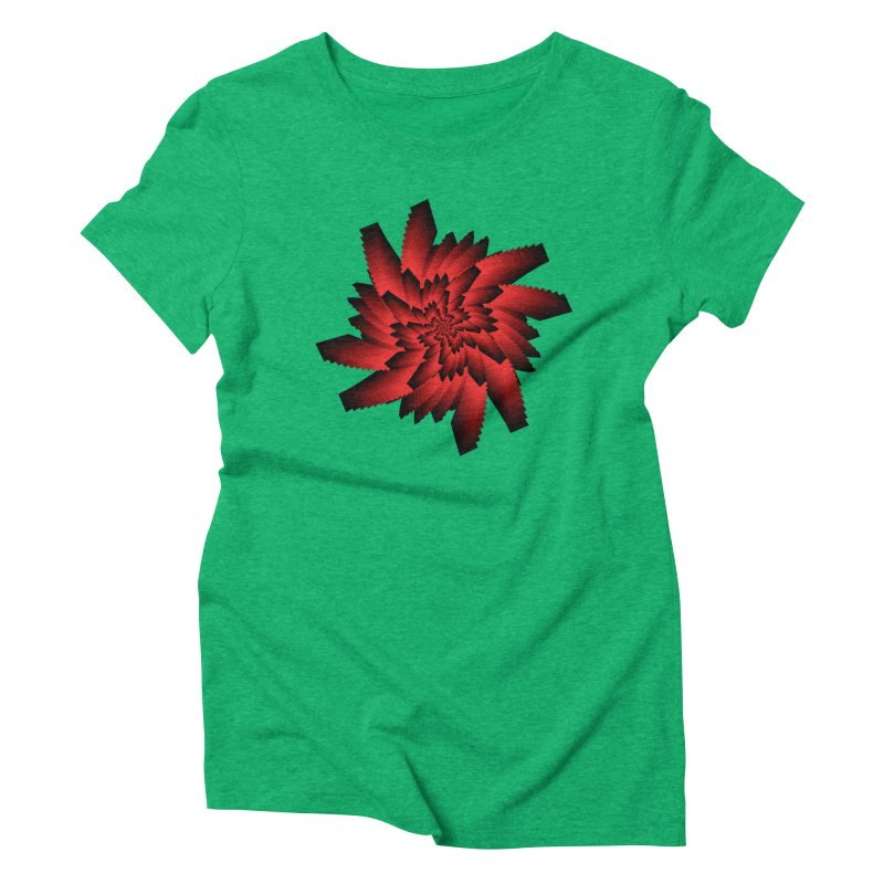 Into the Red Eye Women's Triblend T-Shirt by nickaker's Artist Shop