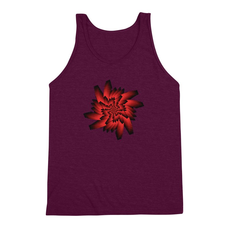 Into the Red Eye Men's Triblend Tank by nickaker's Artist Shop