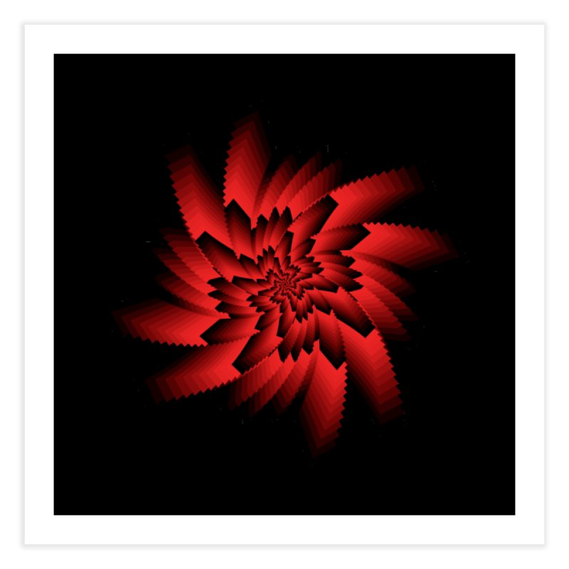 Into the Red Eye Home Fine Art Print by nickaker's Artist Shop
