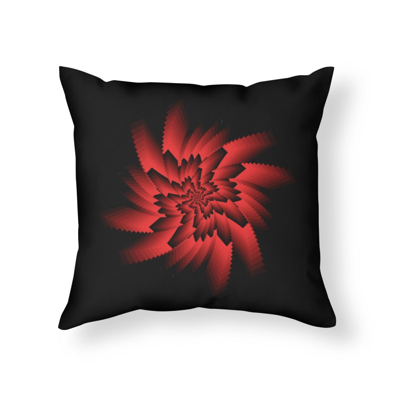 Into the Red Eye Home Throw Pillow by nickaker's Artist Shop