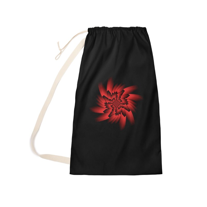 Into the Red Eye Accessories Laundry Bag Bag by nickaker's Artist Shop