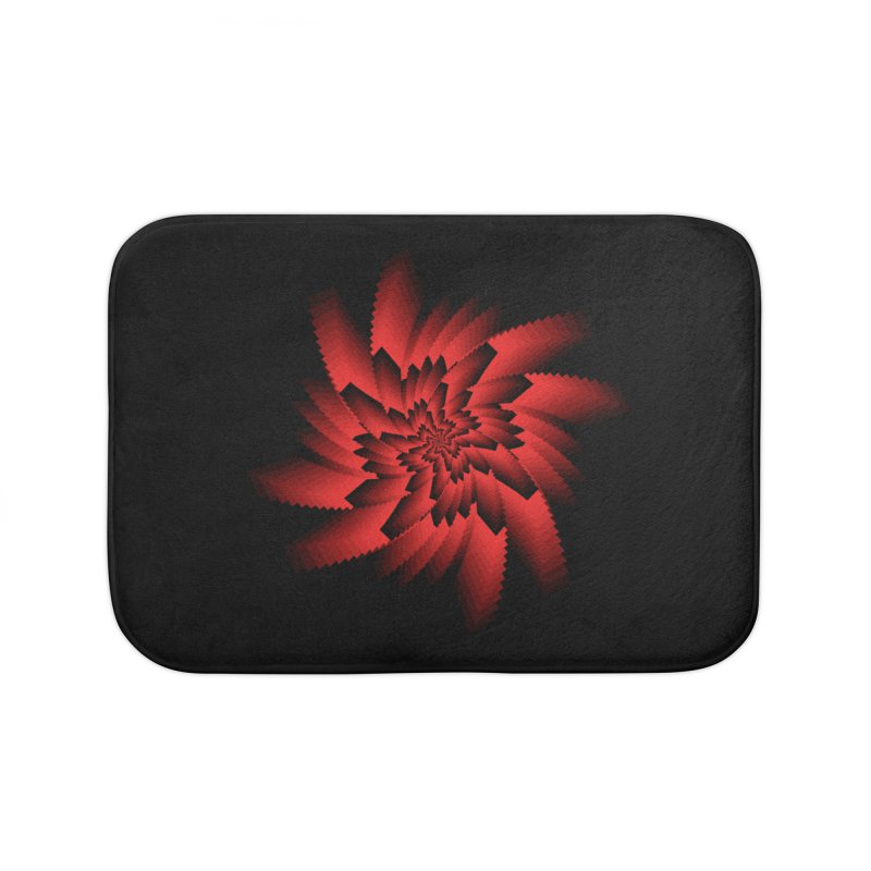 Into the Red Eye Home Bath Mat by nickaker's Artist Shop