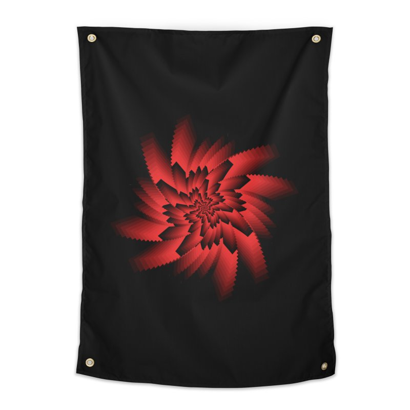 Into the Red Eye Home Tapestry by nickaker's Artist Shop