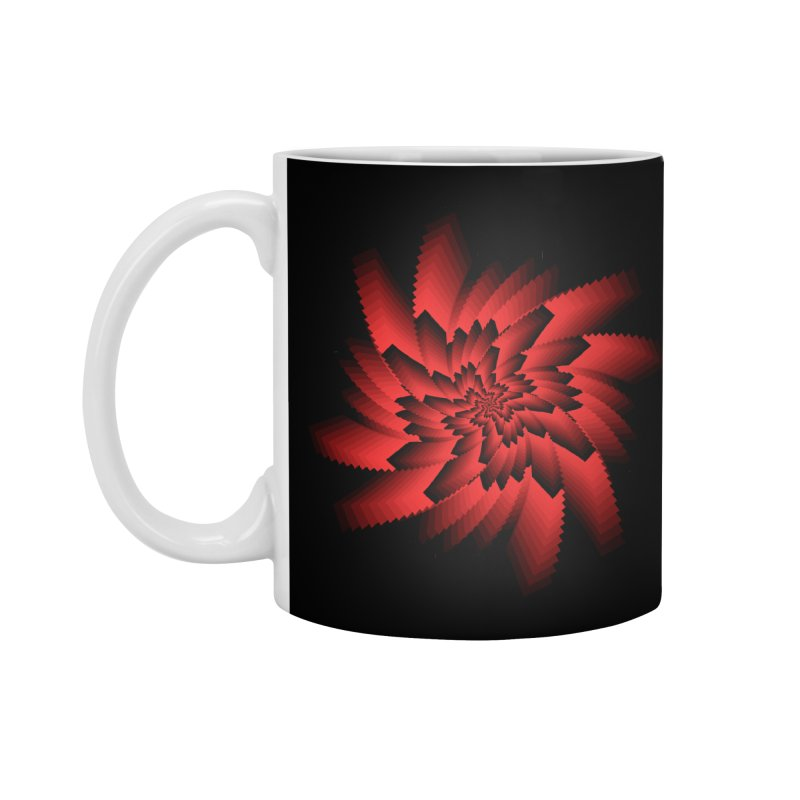 Into the Red Eye Accessories Standard Mug by nickaker's Artist Shop