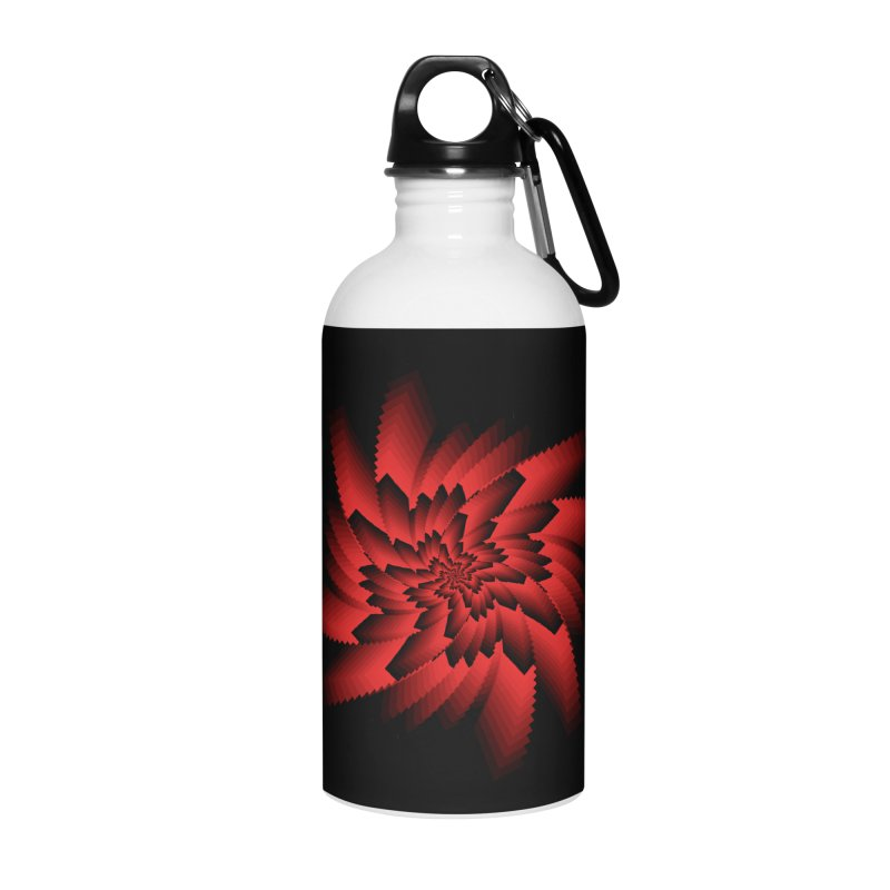 Into the Red Eye Accessories Water Bottle by nickaker's Artist Shop