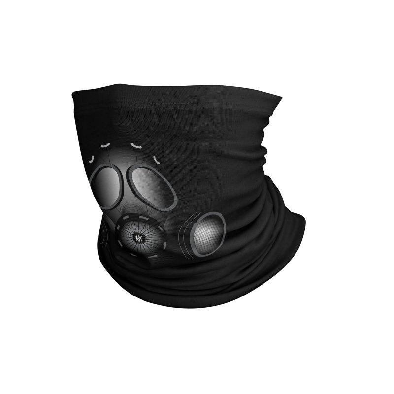 Gas Mask Accessories Neck Gaiter by nickaker's Artist Shop