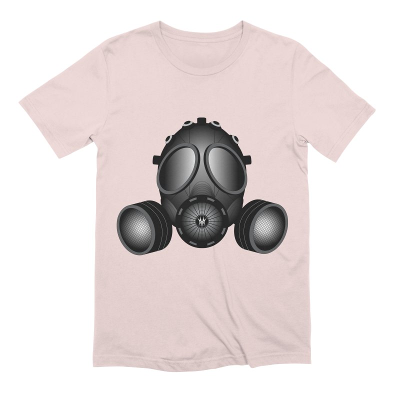Gas Mask Men's Extra Soft T-Shirt by nickaker's Artist Shop