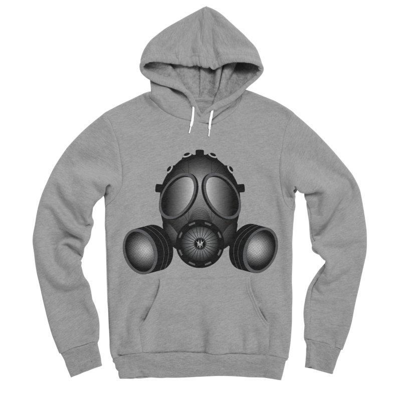 Gas Mask Men's Sponge Fleece Pullover Hoody by nickaker's Artist Shop