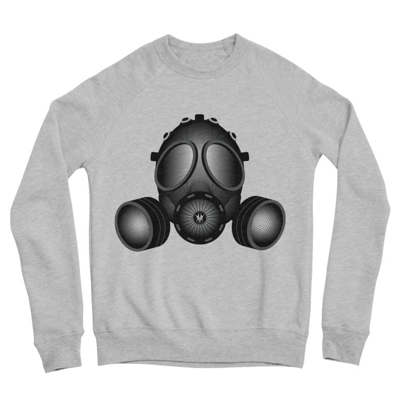 Gas Mask Men's Sponge Fleece Sweatshirt by nickaker's Artist Shop