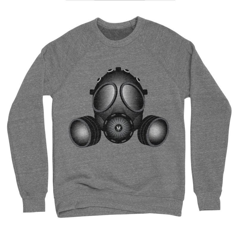 Gas Mask Men's Sponge Fleece Sweatshirt by nickaker's Artist Shop