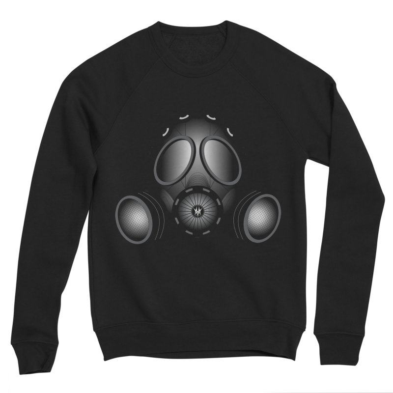 Gas Mask Women's Sponge Fleece Sweatshirt by nickaker's Artist Shop
