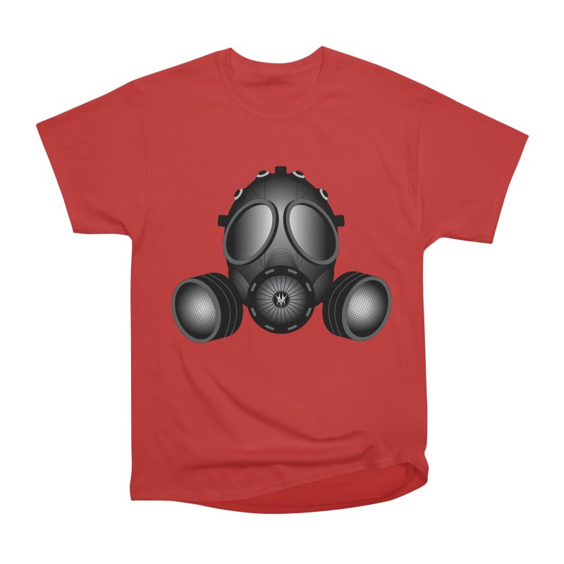 Gas Mask Women's Classic Unisex T-Shirt by nickaker's Artist Shop