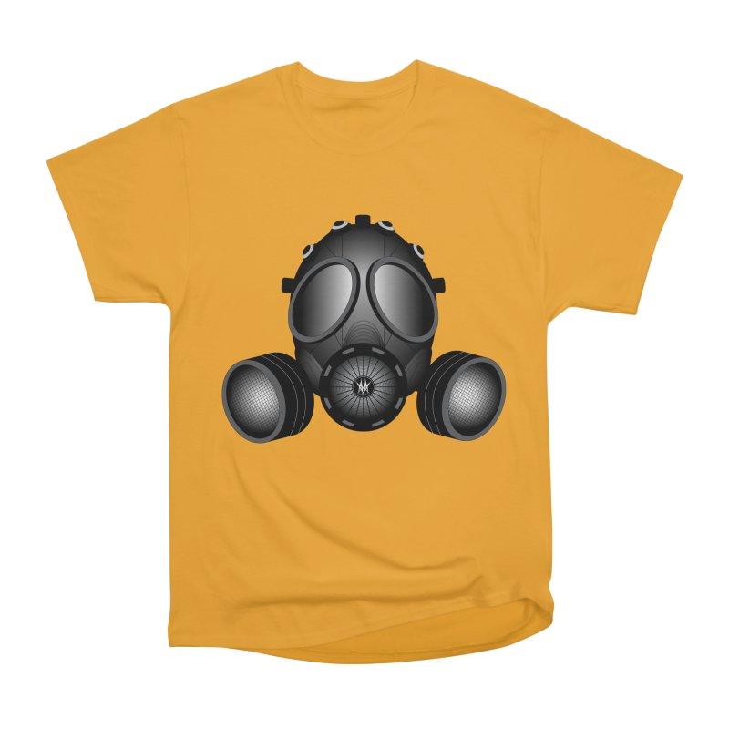 Gas Mask Men's Heavyweight T-Shirt by nickaker's Artist Shop