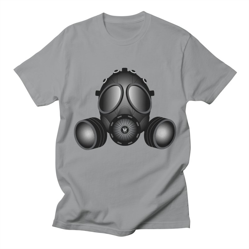 Gas Mask Women's Regular Unisex T-Shirt by nickaker's Artist Shop