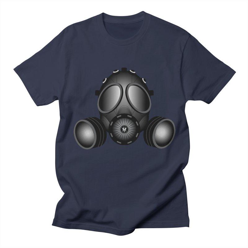 Gas Mask Men's Regular T-Shirt by nickaker's Artist Shop