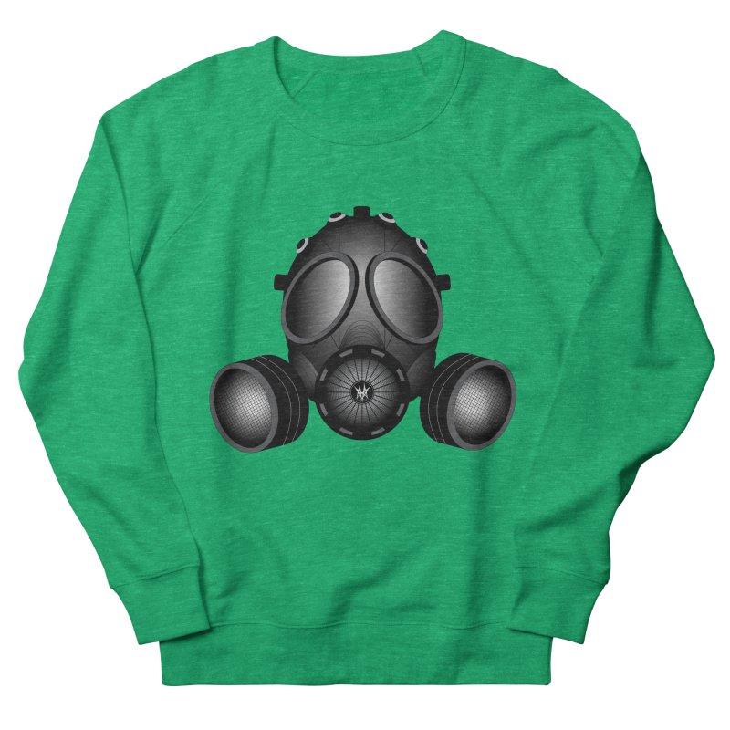 Gas Mask Women's Sweatshirt by nickaker's Artist Shop