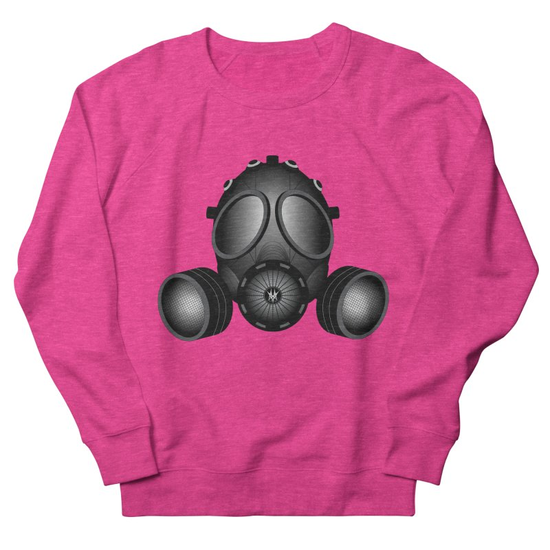 Gas Mask Women's Sweatshirt by nickaker's Artist Shop