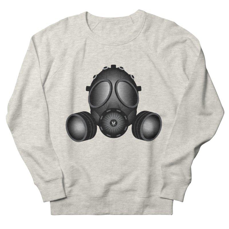 Gas Mask Women's French Terry Sweatshirt by nickaker's Artist Shop