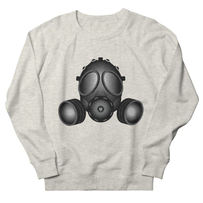Gas Mask Men's Sweatshirt by nickaker's Artist Shop
