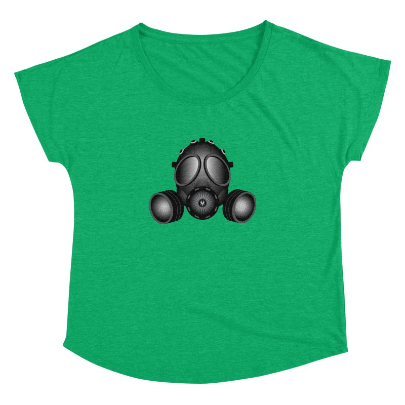 Gas Mask Women's Dolman by nickaker's Artist Shop