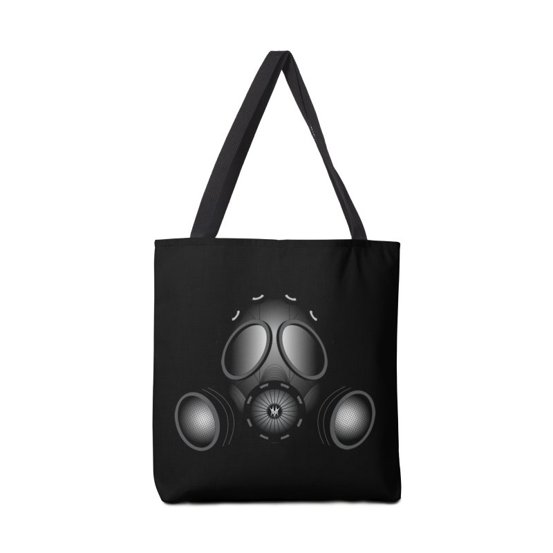 Gas Mask Accessories Tote Bag Bag by nickaker's Artist Shop