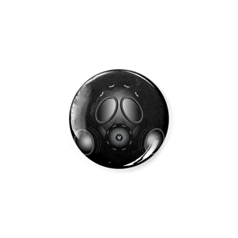 Gas Mask Accessories Button by nickaker's Artist Shop