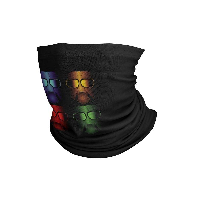 4 Masks Eins Accessories Neck Gaiter by nickaker's Artist Shop