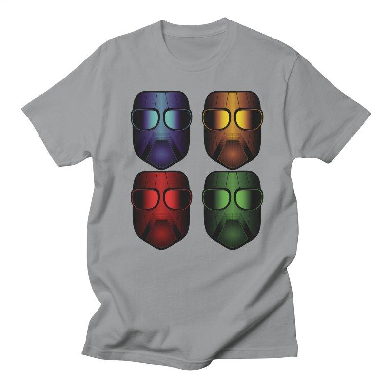 4 Masks Eins Women's Regular Unisex T-Shirt by nickaker's Artist Shop